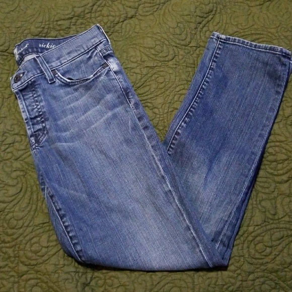 7 For All Mankind Denim - 7 For All Mankind jeans Rickie size 26